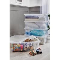 Wham Set of 5 Underbed Storage Boxes.