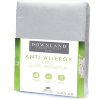 Downland Zipped Anti-Allergy Duvet Protector