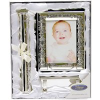 Christening Day - Photo Album and Certificate Stand.