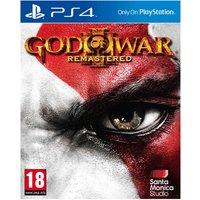 PS4: God Of War III: Remastered.