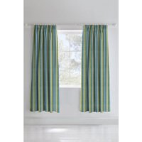 Dino Pencil Pleat Lined Curtains