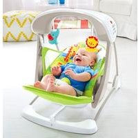 Fisher Price Rainforest Friends Take Along Swing and Seat