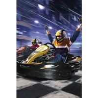 Go Karting 50 Laps for 2 People Gift Experience.