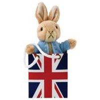 Peter Rabbit in Union Jack Bag