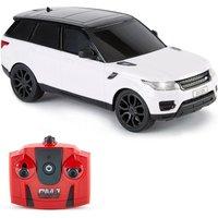 'Remote Controlled 1:24 Scale White Range Rover Sport