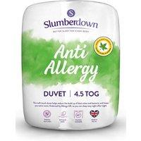 Slumberdown Anti Allergy 4.5 Tog Duvet