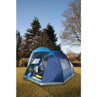 Trespass Torrisdale 6 Person Blue Tent.