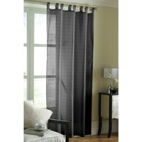 Lurex Stripe Voile Curtain