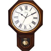 Woodstock Wood Effect Pendulum Wall Clock