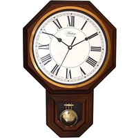 Woodstock Wood Effect Pendulum Wall Clock