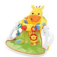 Fisher Price Sit Me Up Giraffe Floor Seat + Tray