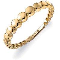 9ct Yellow Gold Graduated Circles Ring