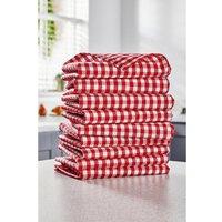9-Piece Gingham Tea Towels