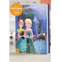 Personalised Disney Frozen Fever - Softback Book