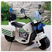 'Ride-on Electric Police Bike