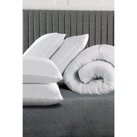 Relax 13.5 Tog Duvet and 4 Pillows Bundle