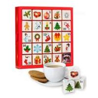 English Tea Shop Organic Ornaments Advent Calendar