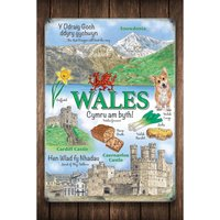Welsh Popular Themes Sign.
