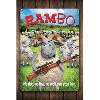 Rambo Sign.