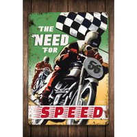The Need For Speed Sign.
