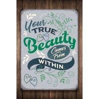 Beauty Sign.