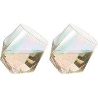 Bar Lustre Diamond Glasses 2 Pack.