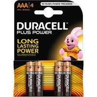 Duracell 4 Pack AAA Power Plus Batteries.