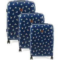 Oasis Hummingbird 3 Piece Suitcase Set