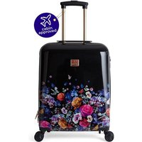 Oasis Floral Pattern Suitcase