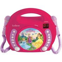 Lexibook Disney Princess CD Player with Microphones
