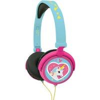 Lexibook Unicorn Foldable Stereo Headphones with Volume Limiter.