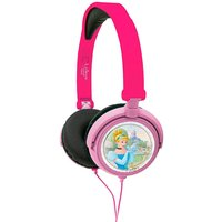Lexibook Disney Princess Foldable Stereo Headphones with Volume Limiter