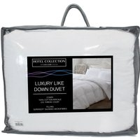 Hotel Collection Luxury Like Down 13.5 Tog Duvet.