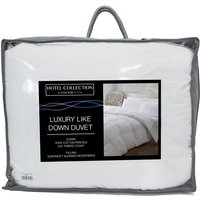 Hotel Collection Luxury Like Down 13.5 Tog Duvet