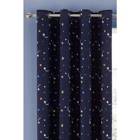 Happy Space Lined Eyelet Curtains