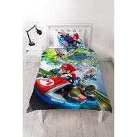 Mario Gravity Single Panel Reversible Duvet Set
