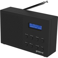 'Groov-e Paris Portable Dab/fm Digital Radio