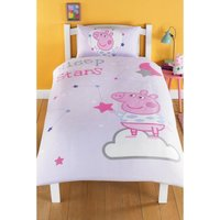 Peppa Pig Single Sleepy Reversible Duvet Set