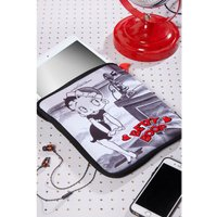 Betty Boop Black and White iPad Case