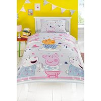 Peppa Pig Sleepy Single Duvet Set
