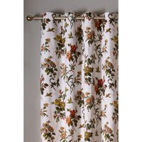 Leighton Ivory Lined Eyelet Curtains