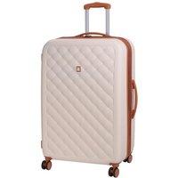 IT Luggage Cushion Lux 8 Wheel Cream Expander Suitcase