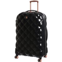IT Luggage St. Tropez Deux 8 Wheel Black Expander Suitcase