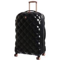 IT Luggage St. Tropez Deux 8 Wheel Black Expander Suitcase