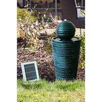 Solar Powered Round Ball Water Fountain