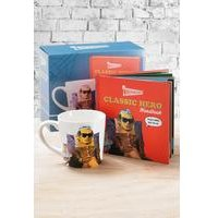 Thunderbirds Classic Hero Book and Mug Set