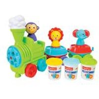 Fisher Price Jungle Train Dough Set