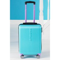 Madrid Aqua Self-Weighing Suitcase