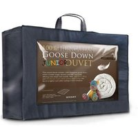 7.5 Tog Hungarian Goose Down Junior Cot Bed Duvet