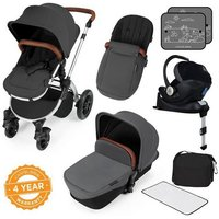 Ickle Bubba Stomp V3 i-Size All In One Travel System with Isofix Base